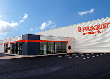 Agence Pasquet Menuiseries Abbeville 80 extérieur