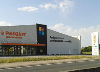 Agence Pasquet Menuiseries Angers 49 extérieur