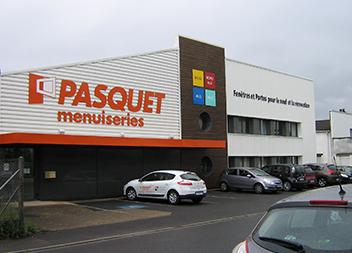 Agence Pasquet Menuiseries Tours 37 extérieur