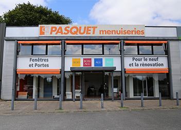 Agence Pasquet Menuiseries Vannes 56 extérieur