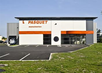 Agence Pasquet Menuiseries Bordeaux 33 extérieur