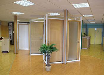 Agence Pasquet Menuiseries JB 70 portes intérieures intérieur