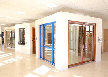 Agence Pasquet Menuiseries Abbeville 80 portes d'enêtres et baies vitrées intérieur
