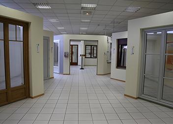 Agence Pasquet Menuiseries Tours 37 intérieur baie vitrée et porte fenêtre