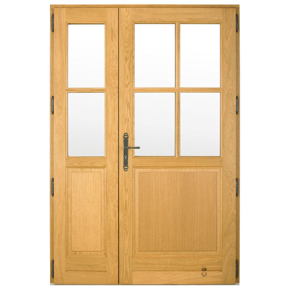 Porte d'entrée Bois Pasquet Aubrière Petits bois et semi fixes intérieur