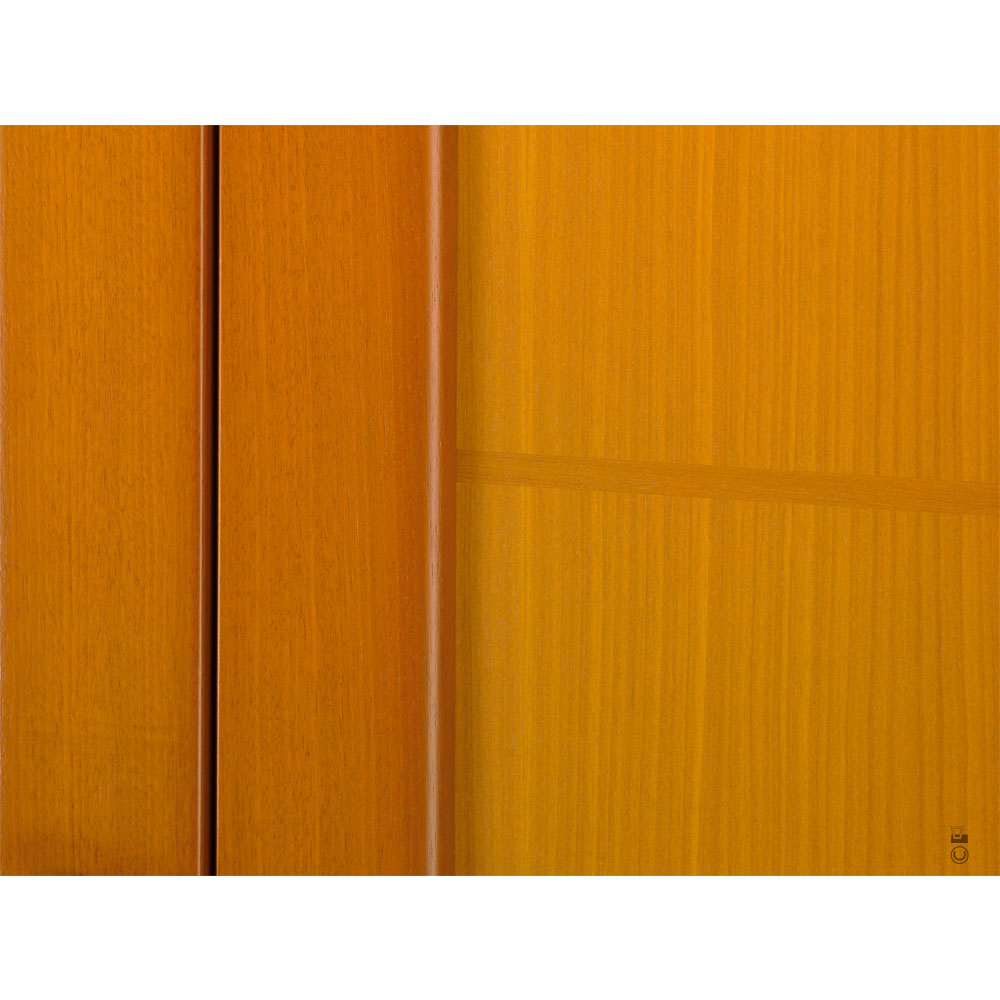 Porte d'entrée Mixte Pasquet Eridan bois alu intérieur zoom