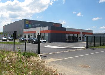 Agence Pasquet Menuiseries Déols 36 extérieur