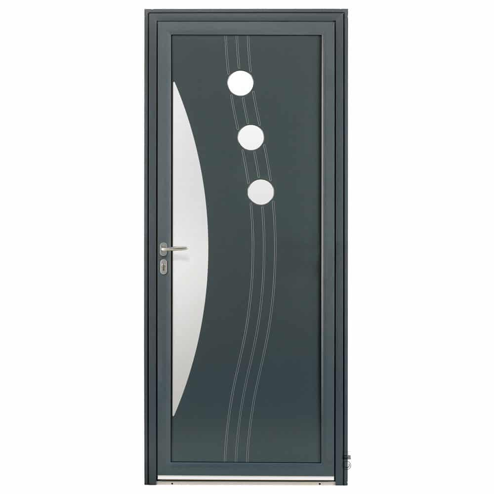 Porte d'entrée Aluminium Pasquet Halo