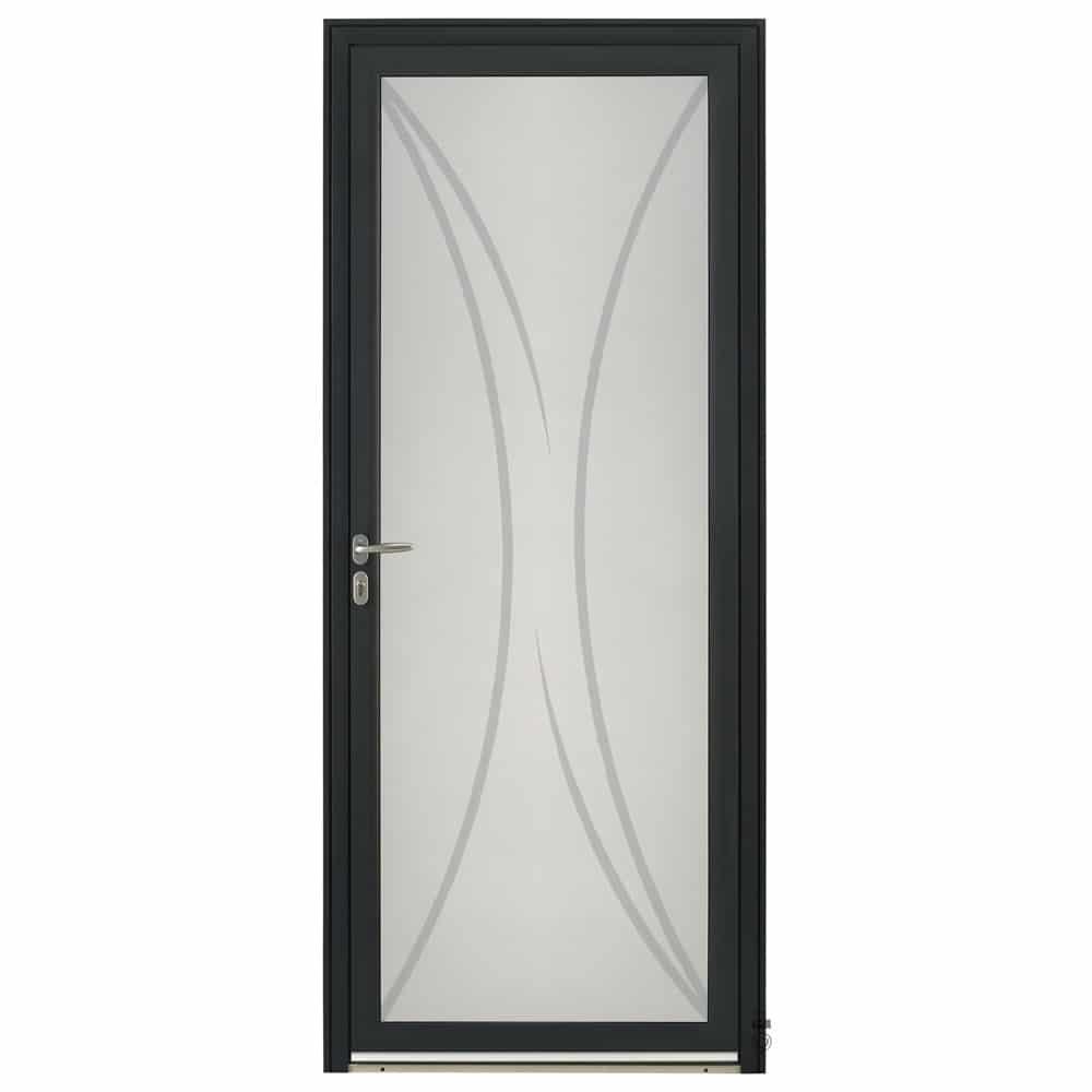 Porte d'entrée Aluminium Pasquet Initiale Vitrage Khi