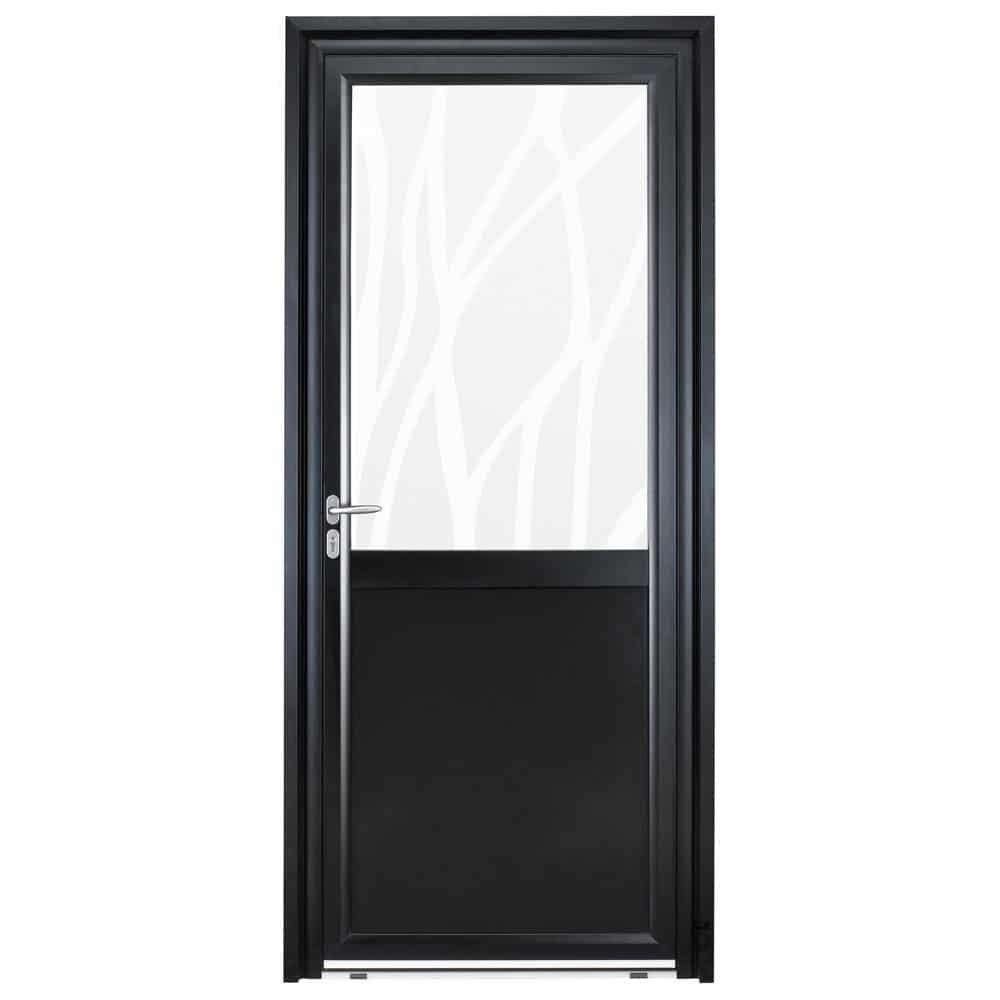 Porte d'entrée Aluminium Pasquet Instinct Vitrage lianes