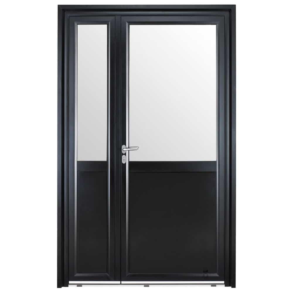 Porte d'entrée Aluminium Pasquet Instinct Semi-fixe