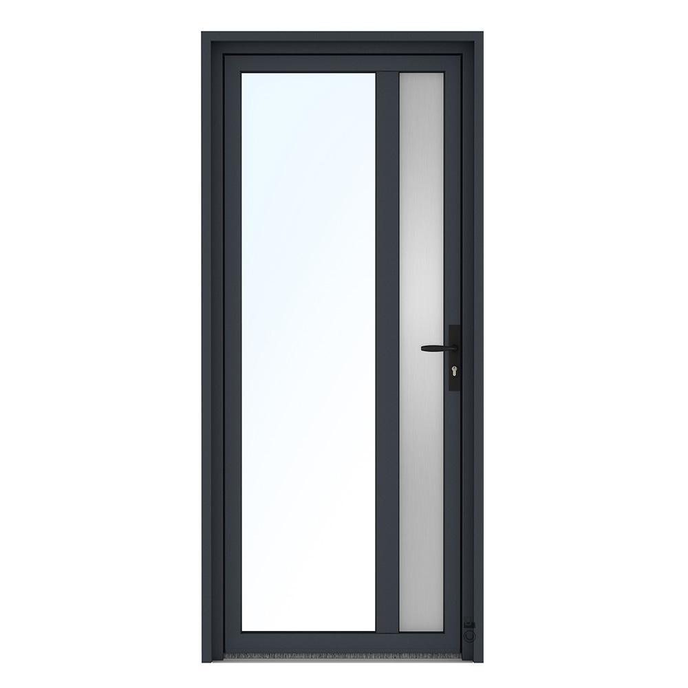Porte d'entrée PVC Pasquet Marjolaine vitrée