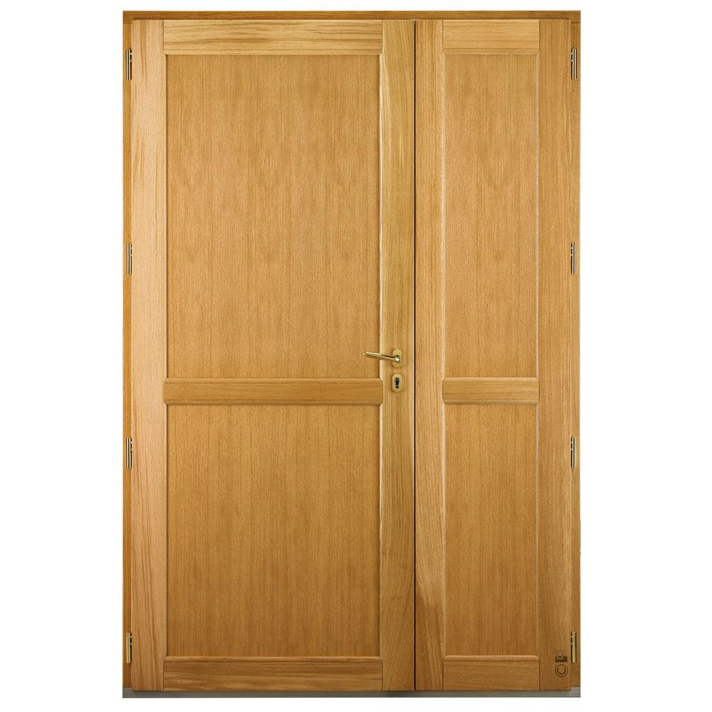 Porte d'entrée Mixte Pasquet Symbole bois alu semi fixe intérieur