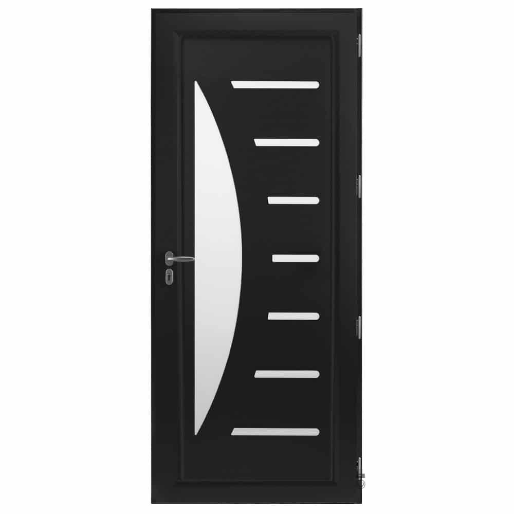 Porte d'entrée Aluminium Pasquet Zénith Intérieur noir