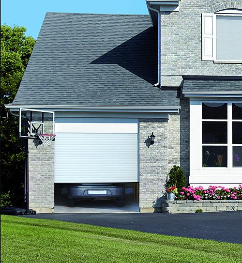porte de garage pasquet menuiseries porte garage aluminium Helix porte garage securisee