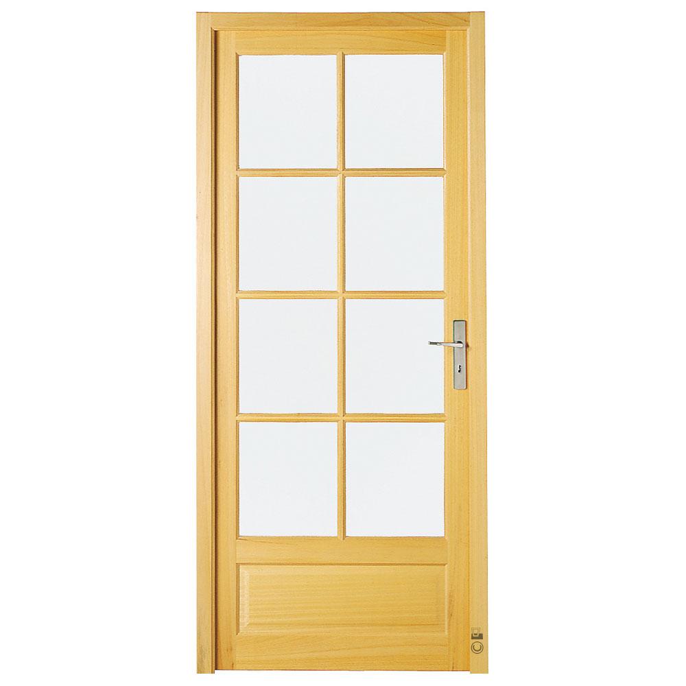 Porte intérieure Chenonceaux Pasquet Menuiseries Ayous