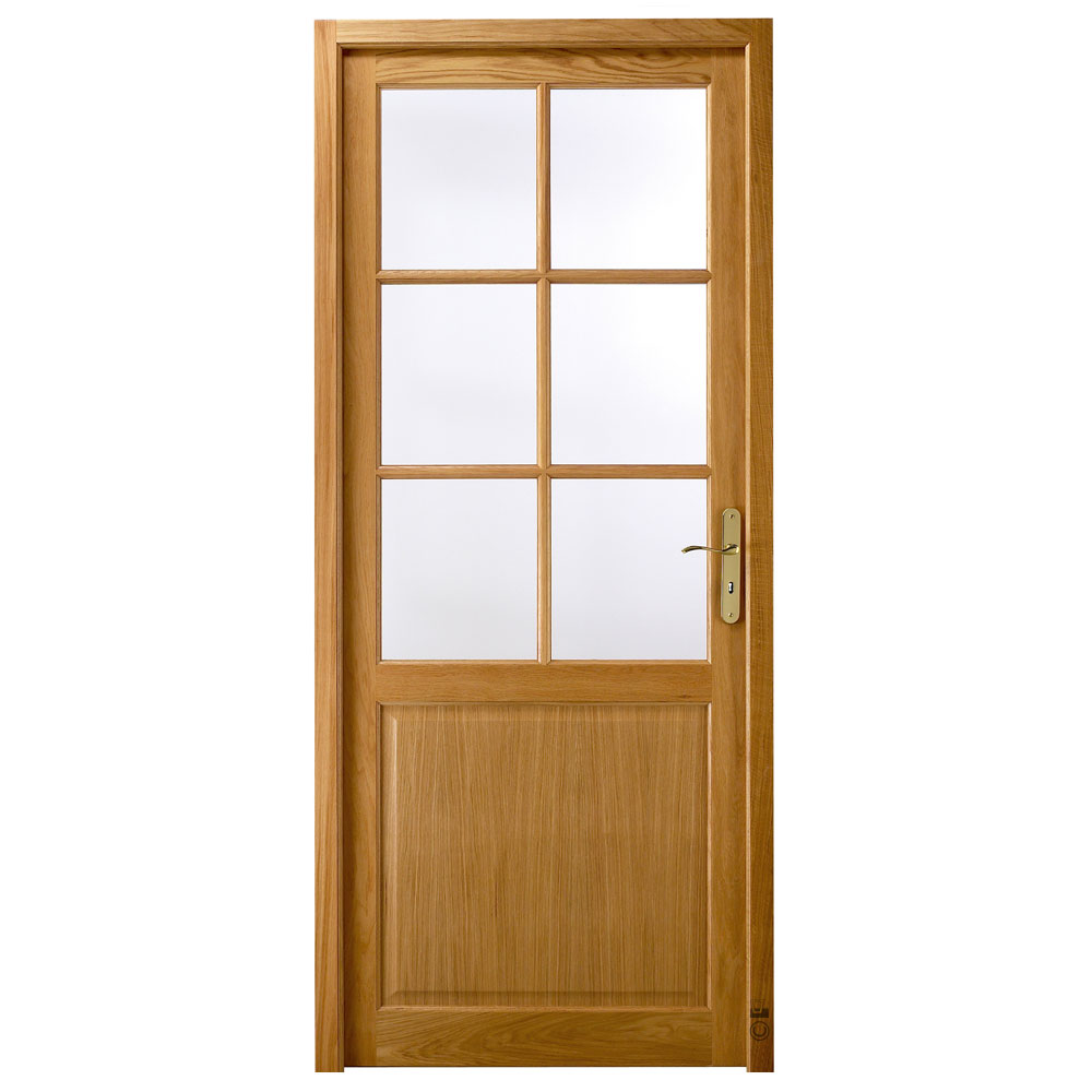 Porte intérieure Chinon Pasquet Menuiseries Chêne