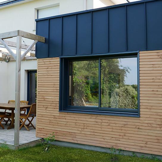 Fenetre auralu 2 vantaux fenetre bois aluminium pasquet menuiseries fenetre mixte