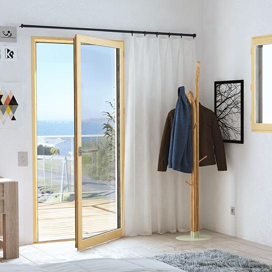Porte-fenêtre en bois et aluminium mixte pasquet menuiseries porte-fenetre mixte pasquet menuiseries v1