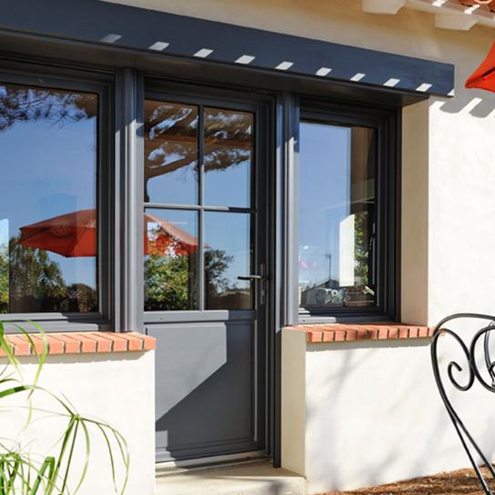 porte et fenêtre bois lignal fenêtre bois peinte fenêtre en bois pasquet menuiseries Lignal