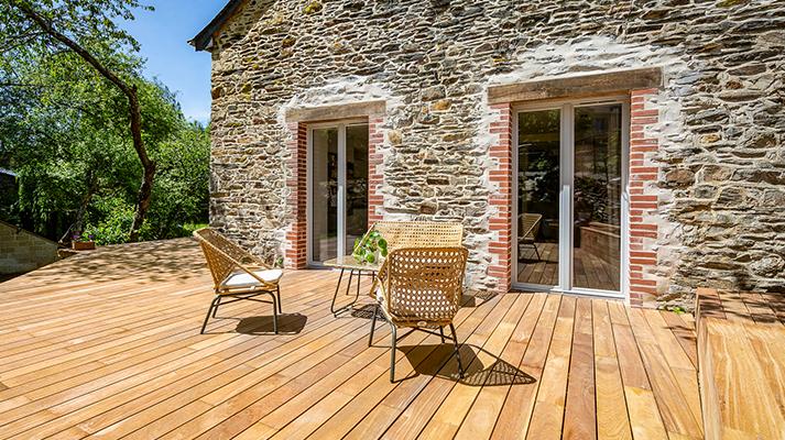 Porte-fenêtre en bois Lignal® Pasquet Menuiseries