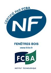 NF fenetres vois et logo fcba