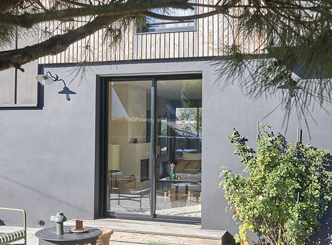 Baie vitrée et porte-fenêtre en Aluminium Pasquet Menuiseries