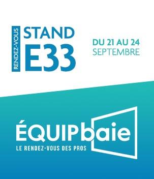 Pasquet Menuiseries sera présent au salon Equipbaie 2021
